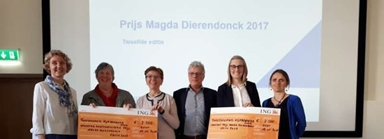 GLOBIAD project team winner of the Magda Dierendonck 2017 Award for Nursing Research in Flanders